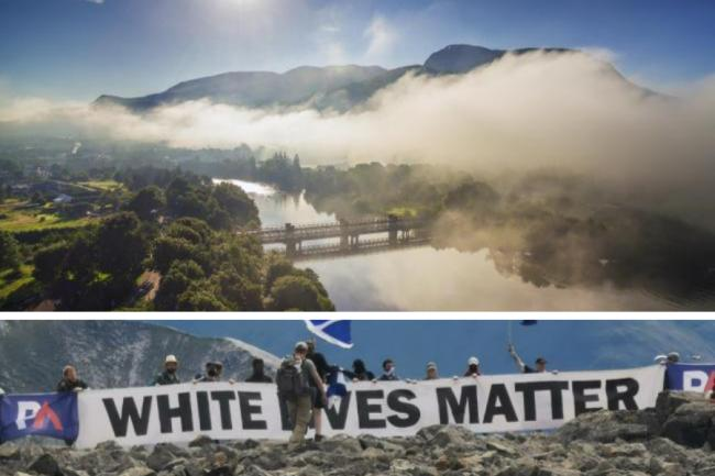 The Patriotic Action stunt on Ben Nevis has been strongly condemned by the John Muir Trust
