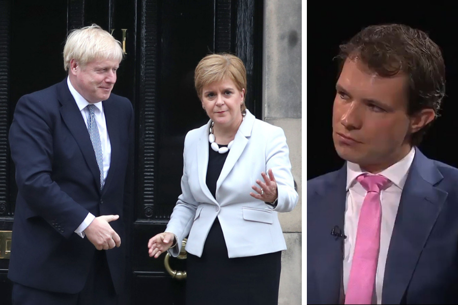 Enraged Tory MP makes 'ludicrous' claim about Boris Johnson's invite to Bute House