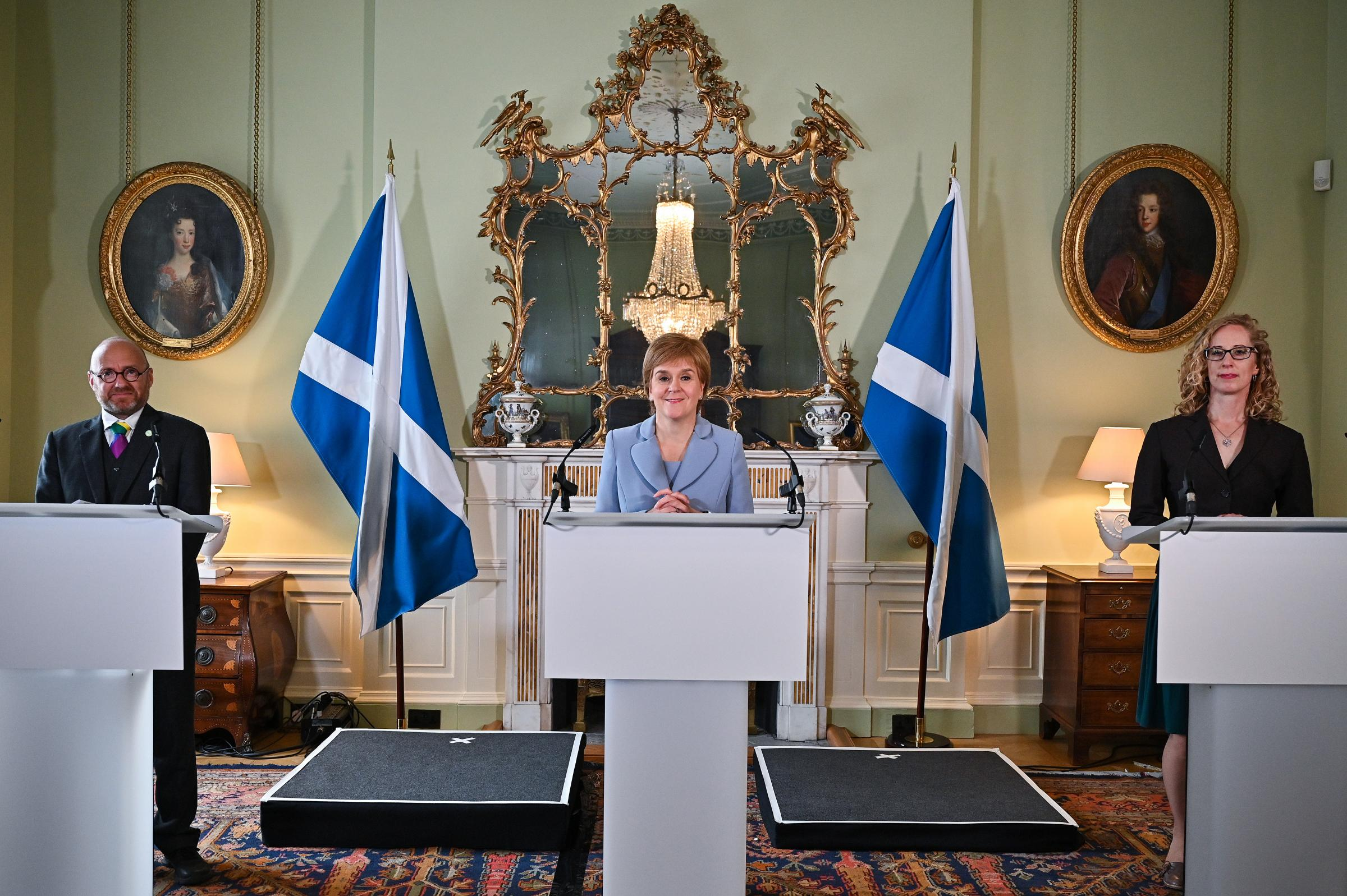 SNP ruling physique backs take care of Greens that 'reinvigorates' independence drive