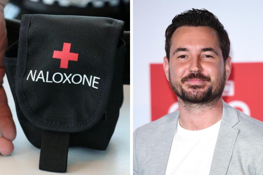 Martin Compston to voice TV ad campaign promoting anti-overdose medication