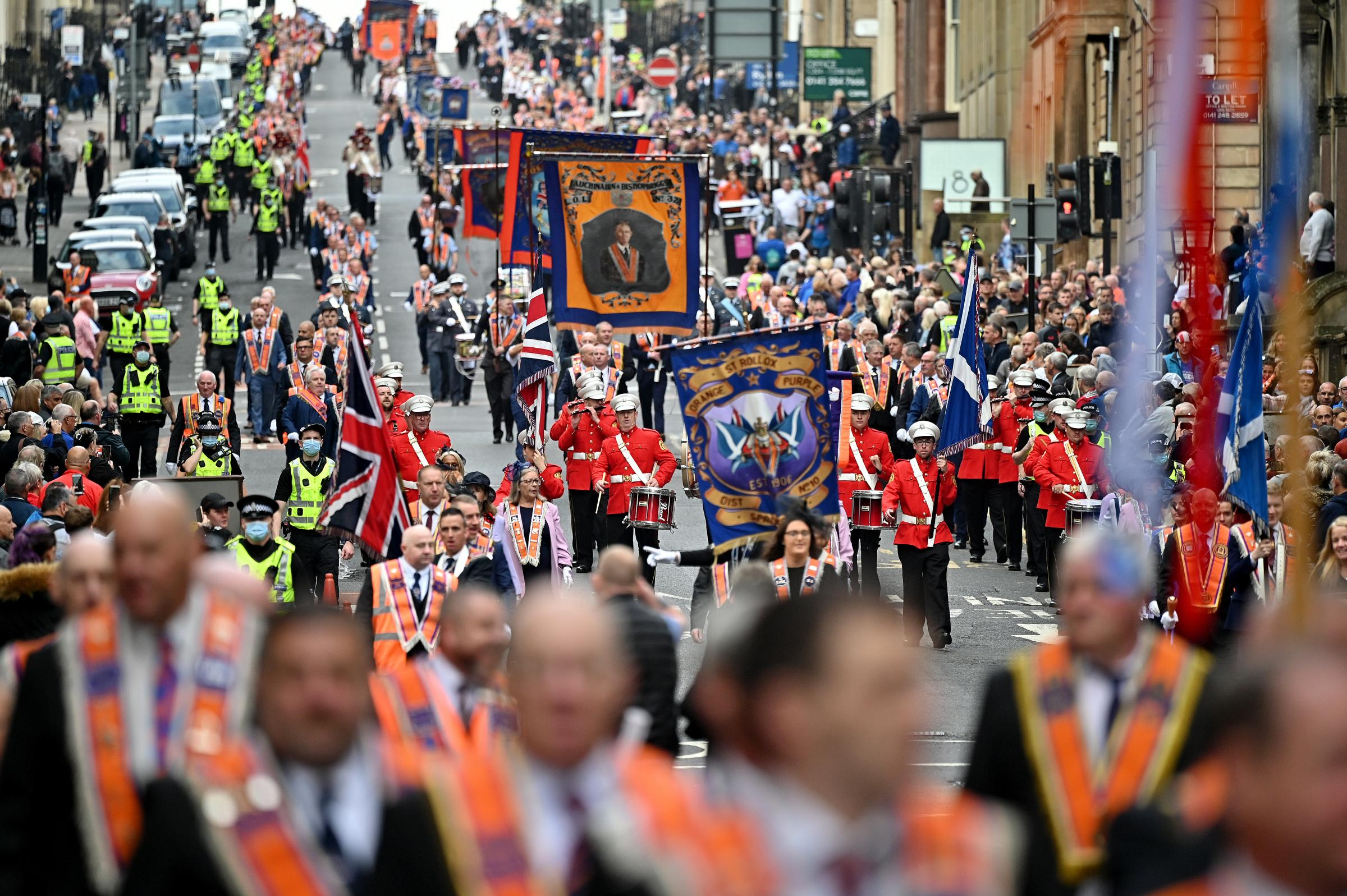 Orange marches may be limited by Belfast-style Parades Commission, FM to consider
