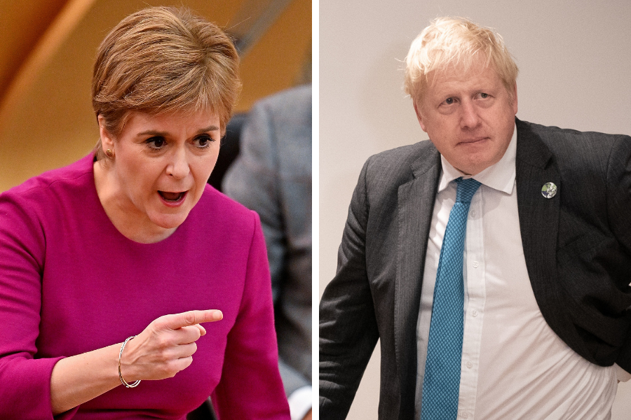 'Utterly humiliating': Nicola Sturgeon slams Boris Johnson after Brexit U-turn