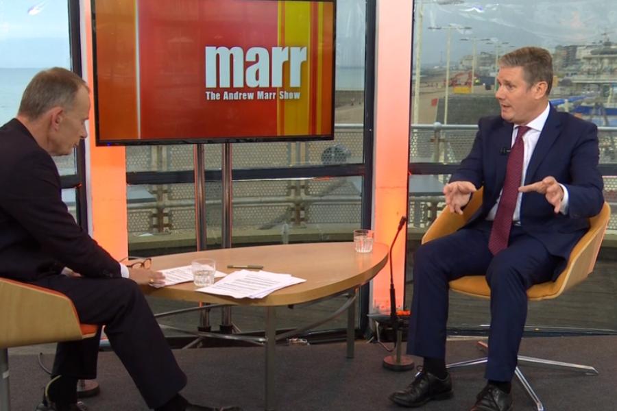 Labour leader Keir Starmer under fire after 'car crash' BBC interview