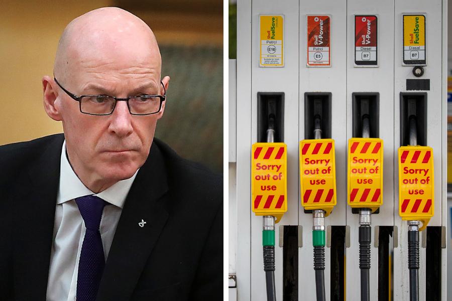 Scotland has 'adequate' supply of fuel despite 'appalling' Brexit bourach