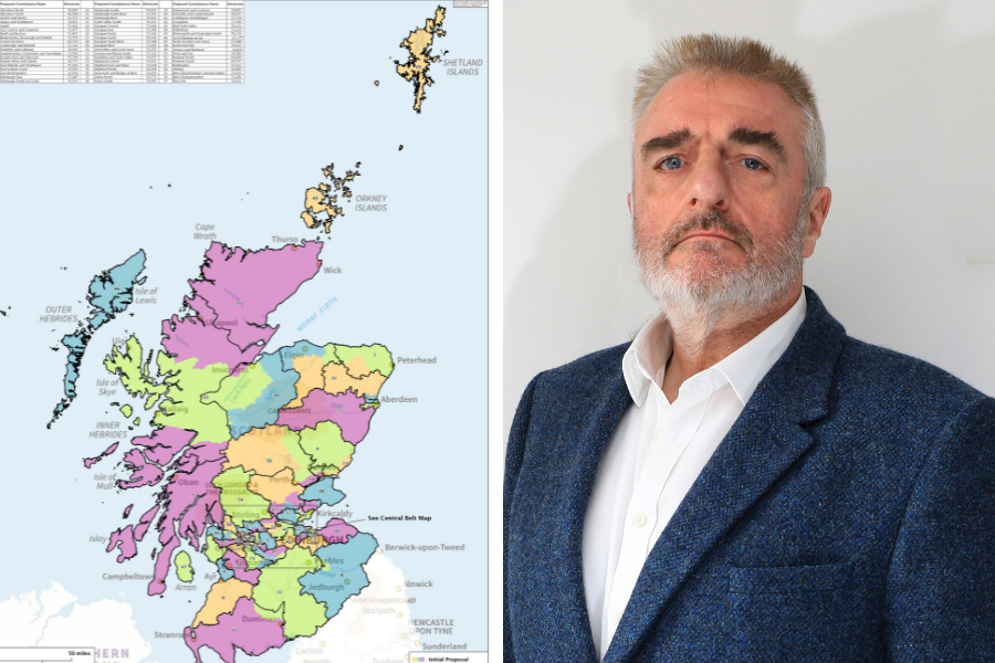 Electoral boundary changes leave Scots with lowest representation in a century
