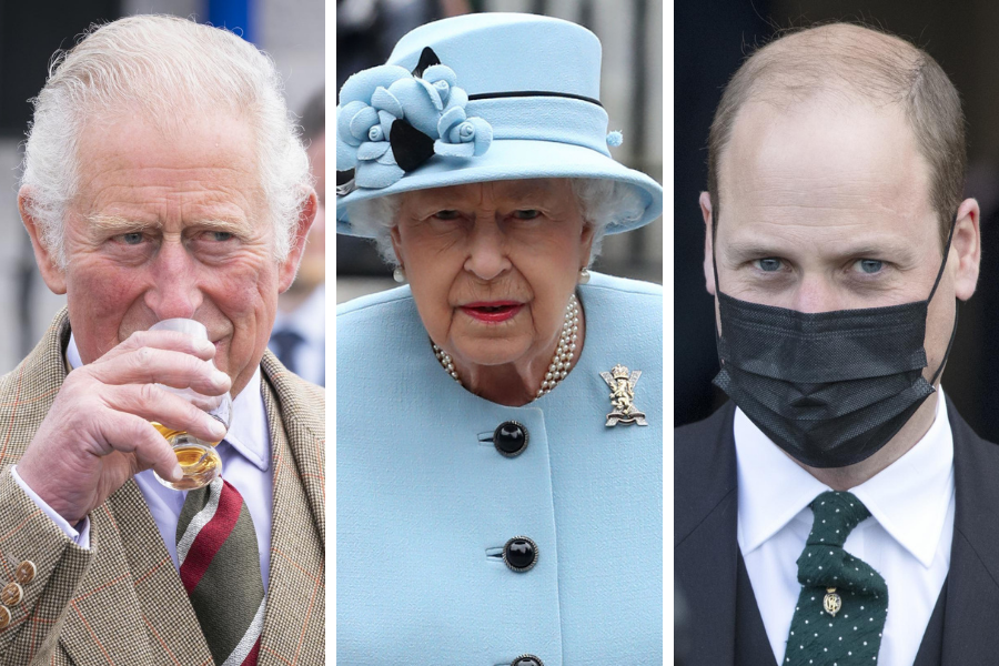 The REAL Scottish Politics: Hypocrisy of queen and princes exposed