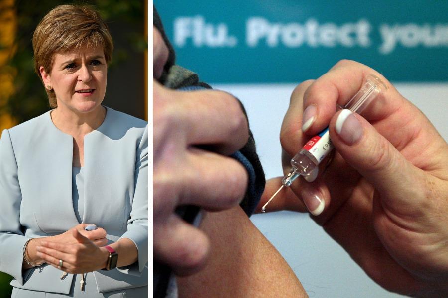 Nicola Sturgeon urged to speak out over UK's 'shameful' Covid vaccine aid