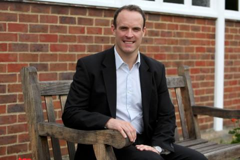 The National: Campaigning: Dominic Raab MP