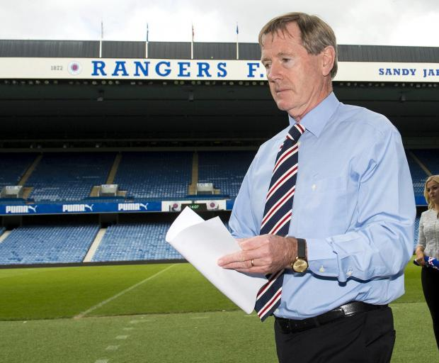 The National: Rangers chairman Dave King at Ibrox.