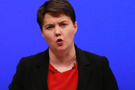 The National: Scottish Conservative leader Ruth Davidson