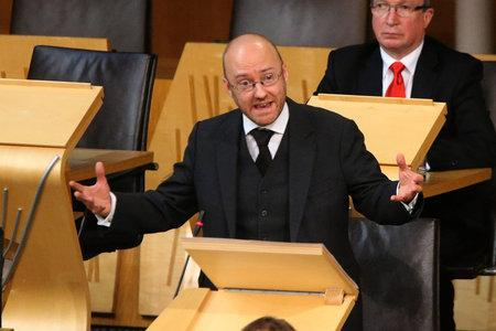 The National: Patrick Harvie urged the First Minister to back the Oxfam campaign at FMQs