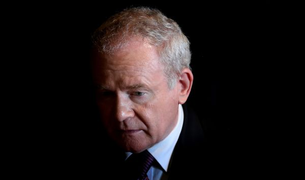 Deputy First Minister Martin McGuinness said the Democratic Unionists had