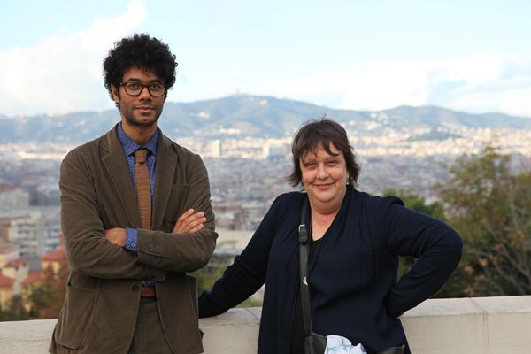 Richard Ayoade and Kathy Burke spend 48 hours in Barcelona