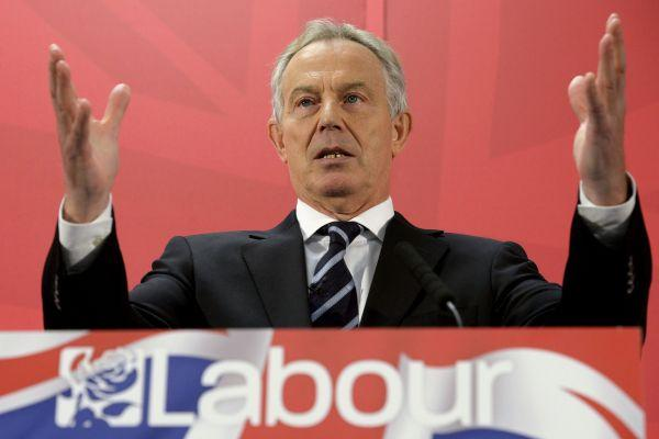Tony Blair has given Ed Miliband his endorsement, but the party rarely mention his name