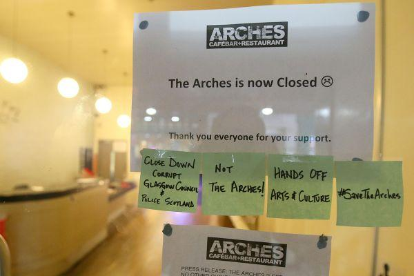 Cora Bissett: Shame on those who have forced The Arches to close