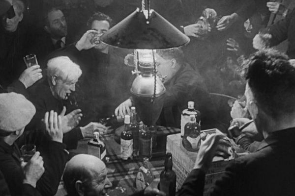 A scene from the Ealing Studios production of Whisky Galore, directed by Alexander Mackendrick in 1949, which has been rewritten by Peter McDougall