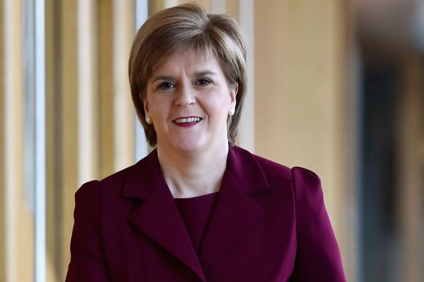 Sturgeon ... promoting a distinctive approach based on a fair society