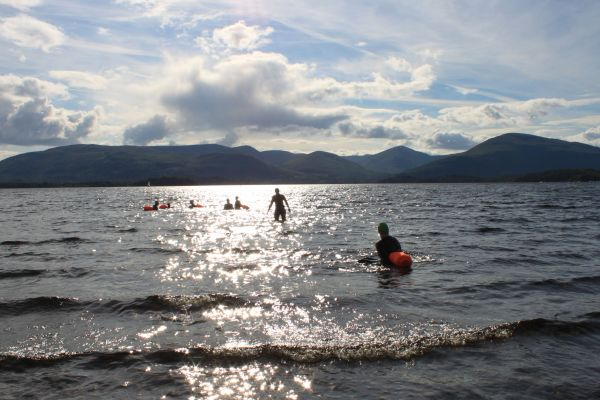Inch by Inch competitors will cross 10 islands as they swim and run from one side of the loch to the other and back again