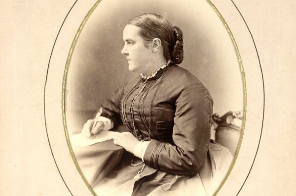 Sophia Jex-Blake was one of the Edinburgh Seven commemorated on the plaque          Photograph: Edinburgh University Library