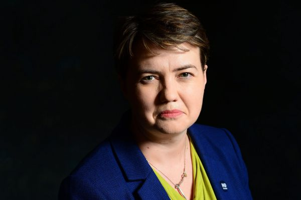 Ruth Davidson made the comments in a TV interview