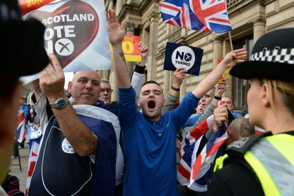 'The loyalist thuggery on George Square was sickening. By Saturday, everyone seemed to have been given a bit of a kick in the backside by the violence – I honestly think that's what re-energised the Yes movement'
