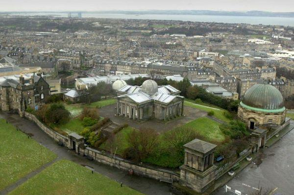The observatory on Calton Hill has been empty for years