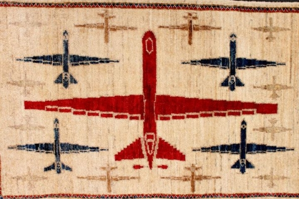 Drones are a way of life in many countries including Afghanistan where women are now weaving motifs of drone planes into their traditional carpets