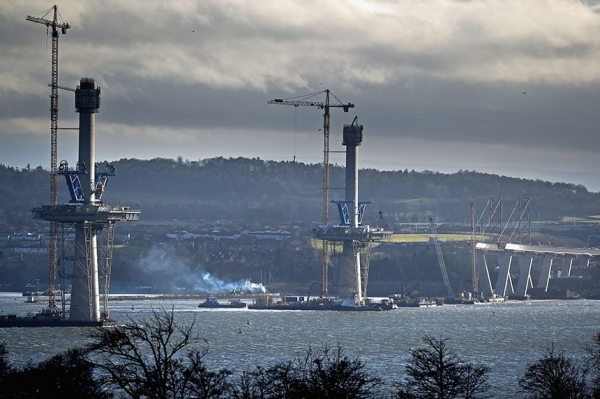 Not a single bid came from Scottish steel companies to supply materials for the Queensferry Crossing.