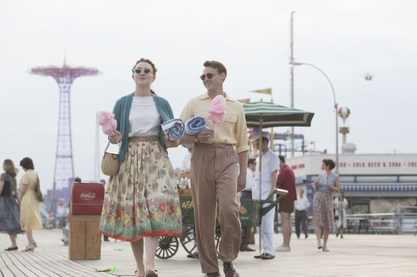 The emotional turmoil of leaving home, Ireland in this case, far behind in search of a better life is captured in soft-focus style in the new release Brooklyn, above, which is set in 1950s New York
