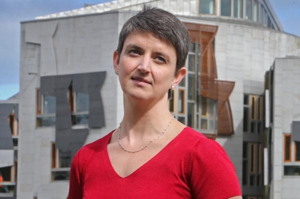 Maggie Chapman is the lead EU candidate for the Scottish Green Party
