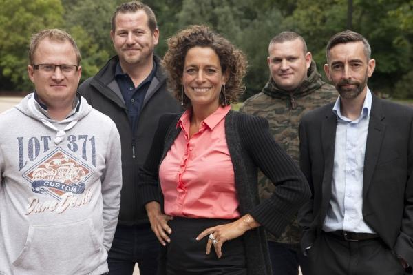 Alex Polizzi helps four ex-servicemen find work