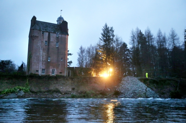 Abergeldie Castle has been assessed to no longer be at immediate risk