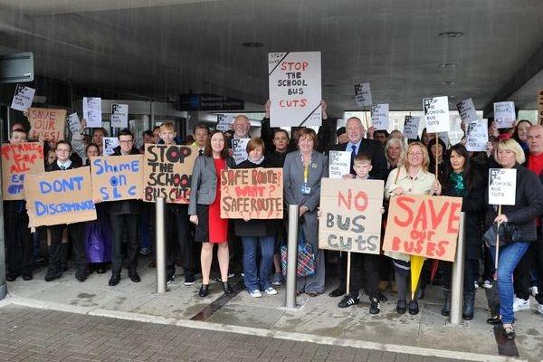 Campaigners' joy after cuts to free school bus travel are halted