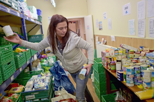 The Trussell Trust provided three-day packs for almost 133,730 people in 2015-16 – a new record