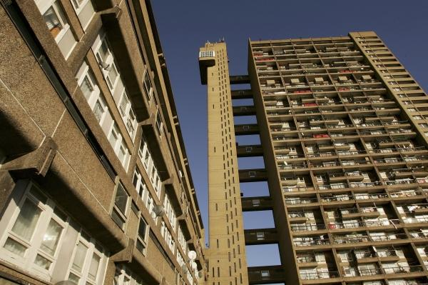 Trellick Tower, designed by Erno Goldfinger