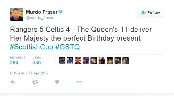 Tory hopeful Fraser slammed for 'Queen's XI' comment after Old ...