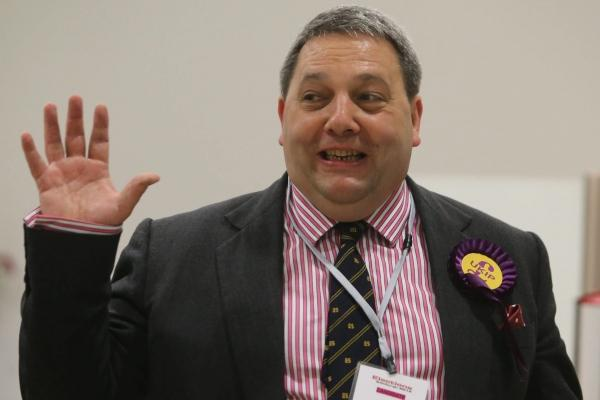 Ukip's David Coburn tipped to take party's first seat in Holyrood despite embarrassing gaffes