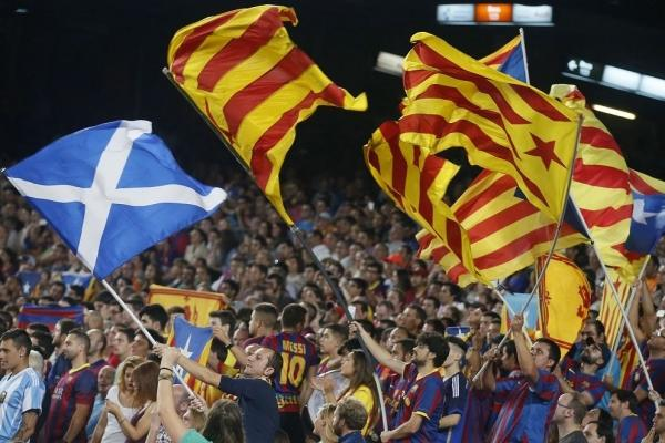Catalan football fans can fly Estelada flags at Copa Del Rey cup final after ban is lifted