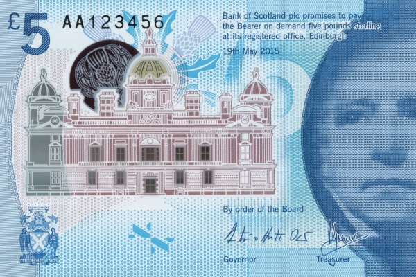 The new bank note