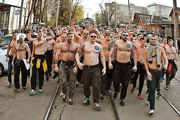 profile the rise of russian football hooligans the national