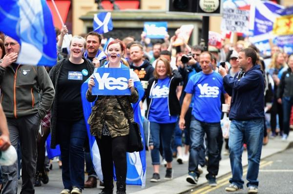 One in five Scots wants the referendum within the next two years, according to the Ipsos Mori poll