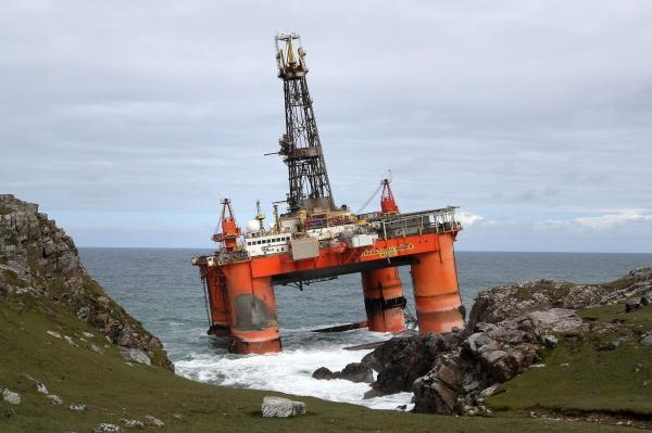 Letters I: Oil-rig on the rocks, but London just watches