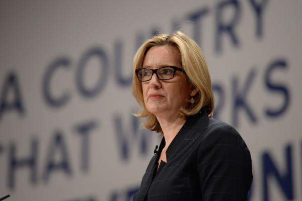 Amber Rudd's speech at the Tory party conference has been lambasted