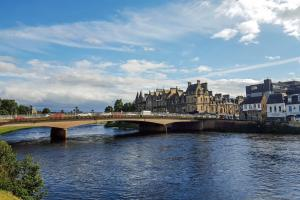 The capital of the Highlands, Inverness, is one of the more dense areas of the sparsely populated Highland region