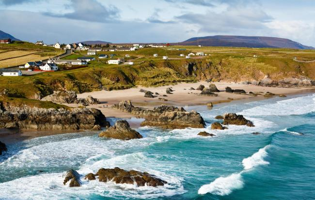 Sango Bay at Durness, one of the communities on the North Coast 500, which has seen visitor numbers rise by more than 25 per cent