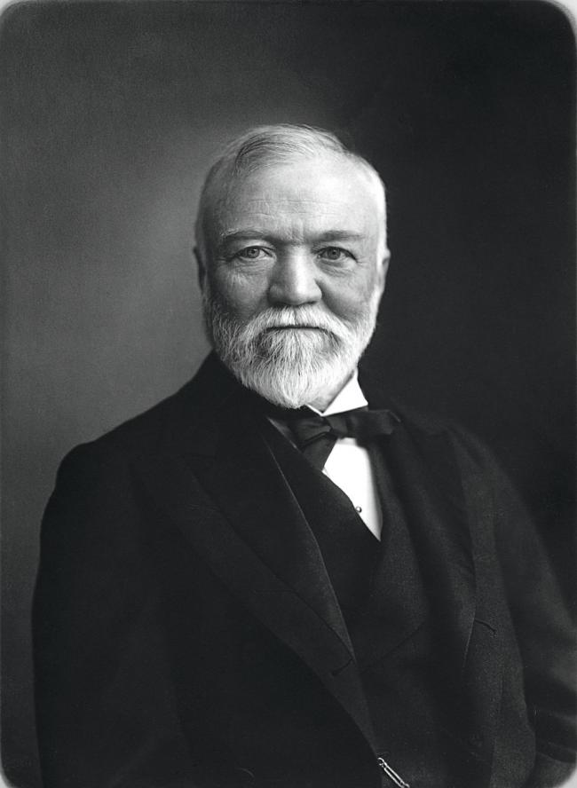 Scotland Back in the Day: How Andrew Carnegie worked his way