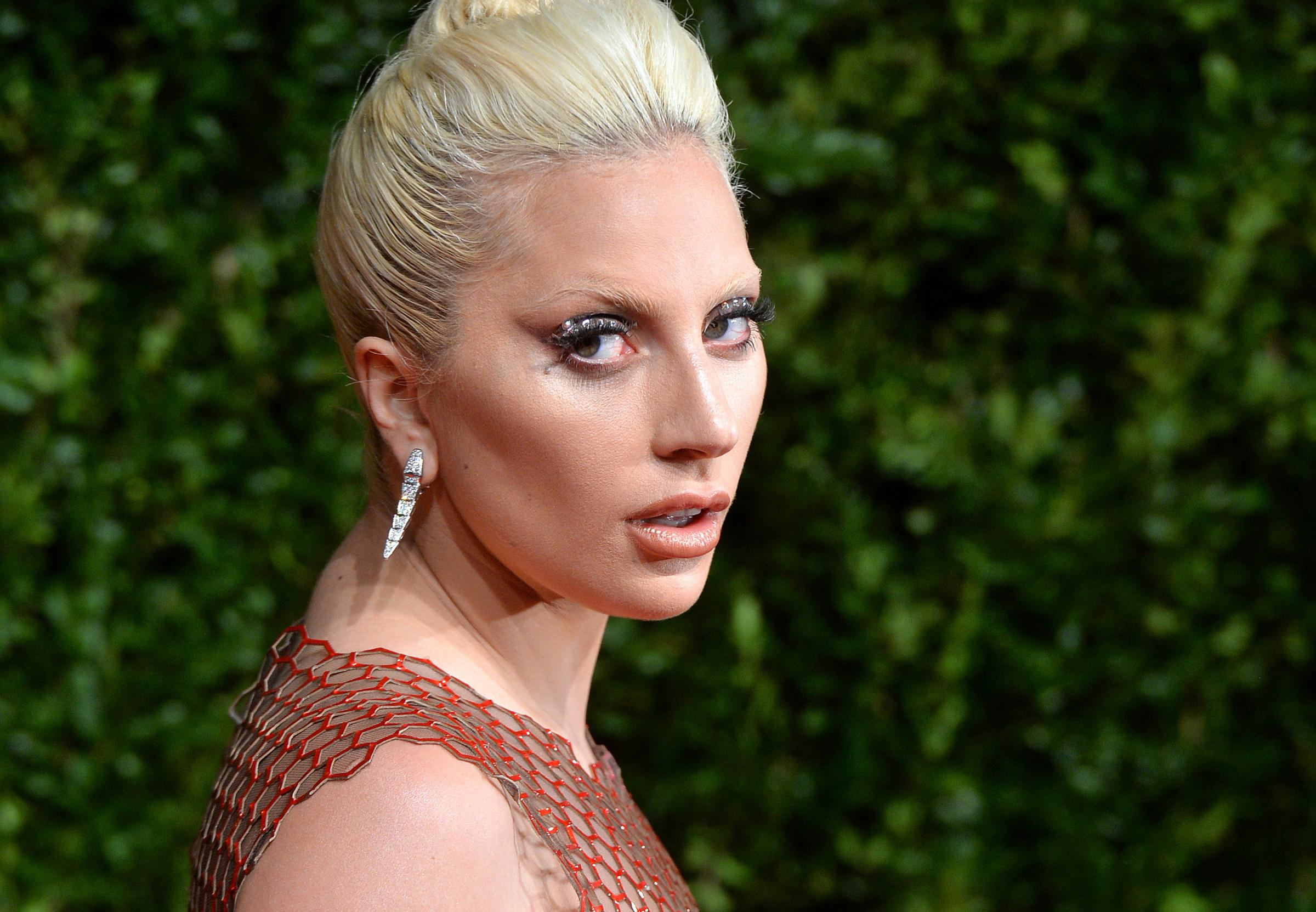 Lady Gaga was accused of only mentioning her rape in order to sell albums