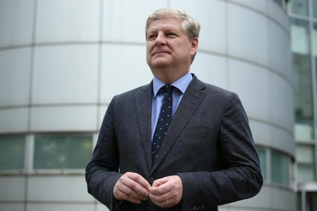 Part-time deputy? Angus Robertson is out of the country four days a week due to his role as an MP
