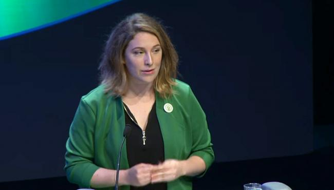 Sarah Beattie-Smith is addressing the Scottish Independence Convention Conference on Saturday