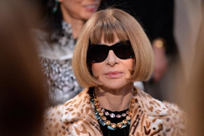 Anna Wintour has been a controversial frigure